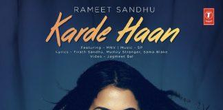NEW RELEASE: RAMEET SANDHU – KARDE HAAN