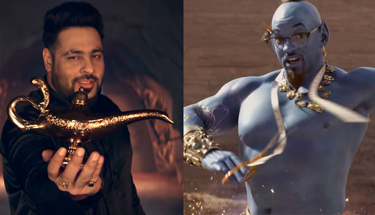 BADSHAH RELESAES A TRACK FOR THE UPCOMING DISNEY MOVIE 'ALADDIN'