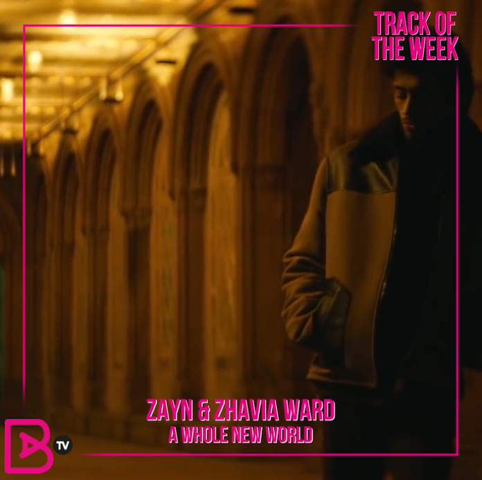 TRACK OF THE WEEK: ZAYN & ZHAVIA – A WHOLE NEW WORLD
