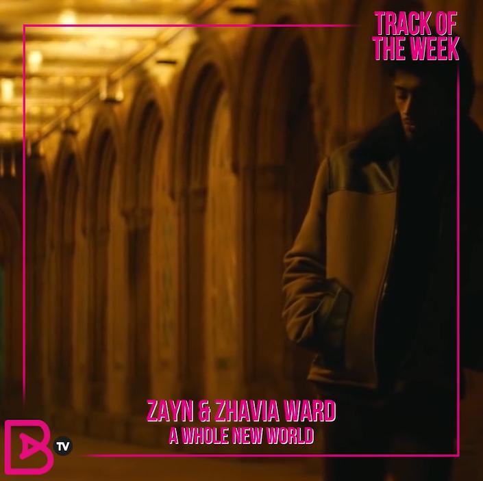 TRACK OF THE WEEK: ZAYN & ZHAVIA – A WHOLE NEW WORLD