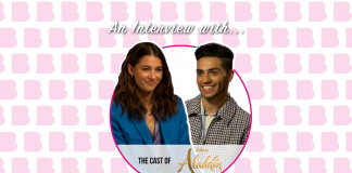 AN INTERVIEW WITH: THE CAST OF ALADDIN