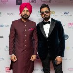 Gippy Grewal and Binnu Dhillon at PFA 19