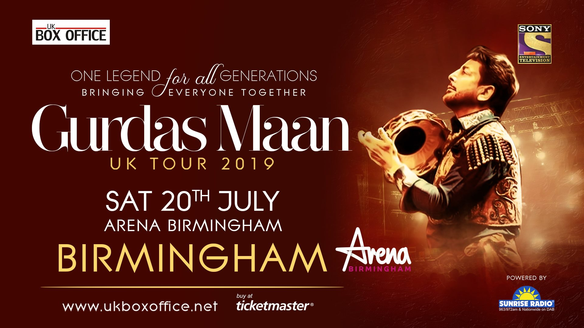 GURDAAS MAAN SET TO TOUR THE UK