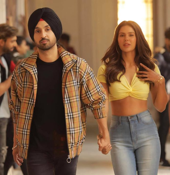 SONAM BAJWA MAKES A CAMEO IN DILJIT DOSANJH'S 'SHADAA'