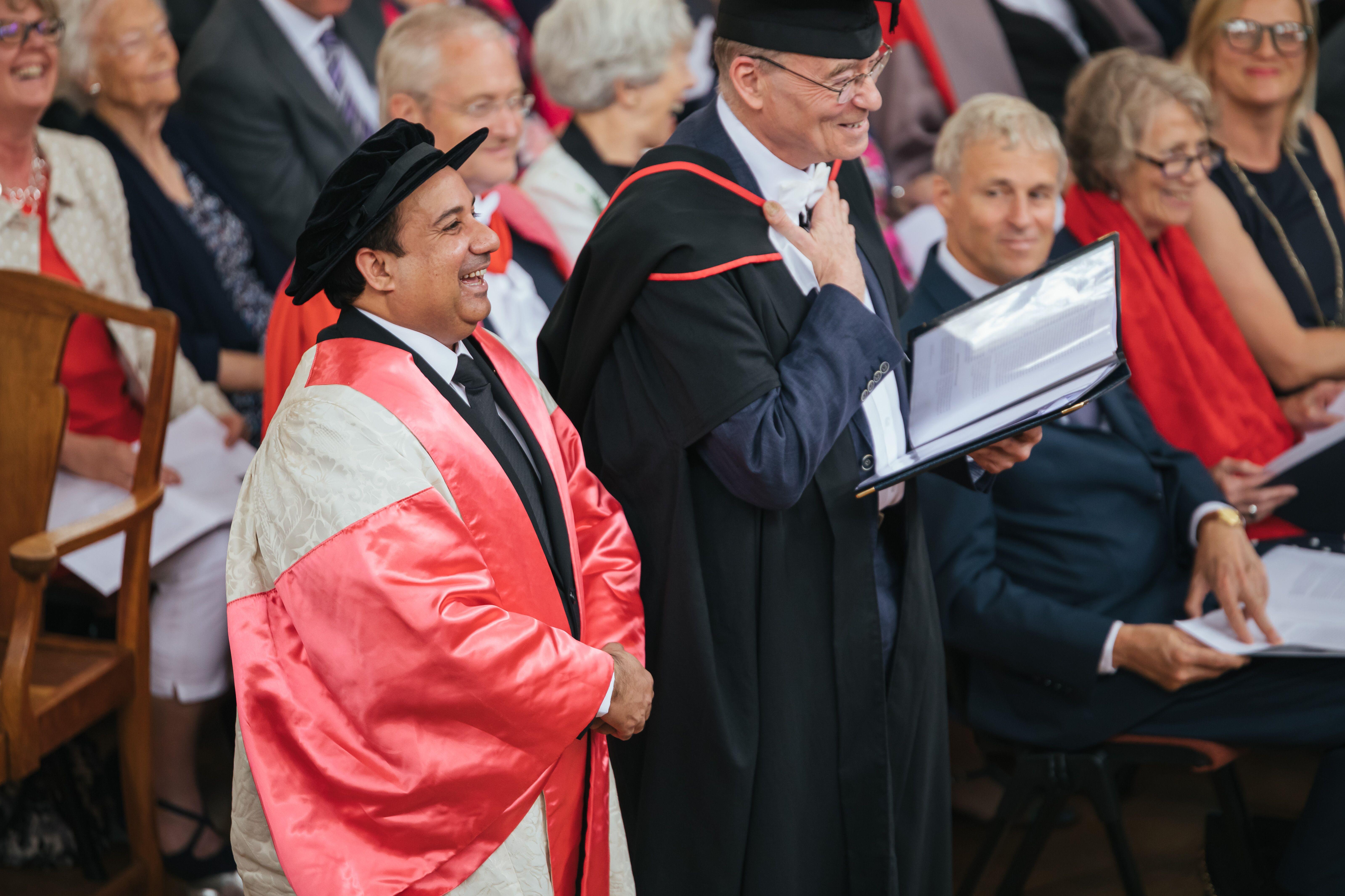 Rahat at Oxford University