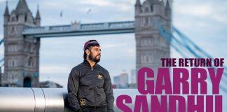 GARRY SANDHU RETURNS BACK TO THE UK