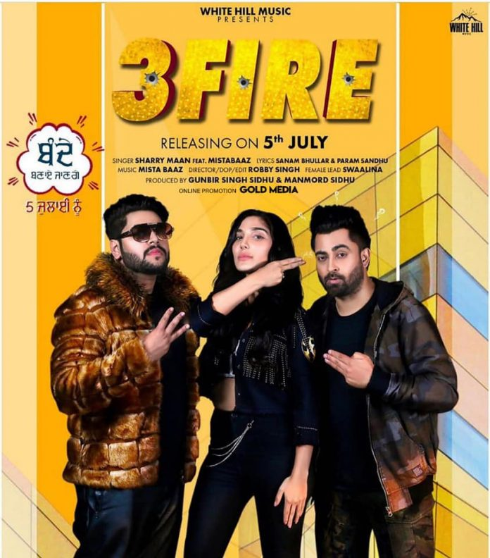 NEW RELEASE: SHARRY MAAN – 3 FIRE