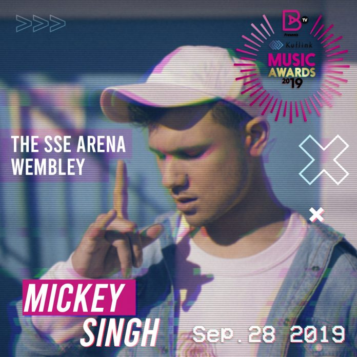 MICKEY SINGH SET TO STORM THE STAGE AT THE BRITASIA TV PRESENTS KUFLINK MUSIC AWARDS 2019