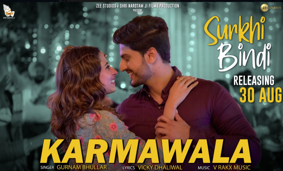 NEW RELEASE: KARMAWALA FROM THE UPCOMING MOVIE 'SURKI BINDI'