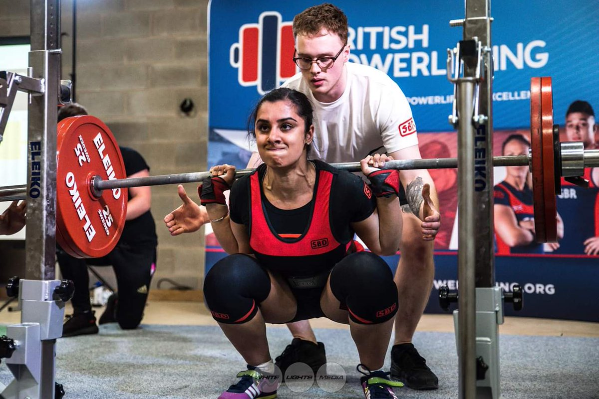 Karenjeet Kaur Bains, first Sikh woman to represent Great Britain in Powerlifting, hails from athletics family which has roots in Punjab.
